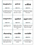 Adjectives of Personality Flashcards