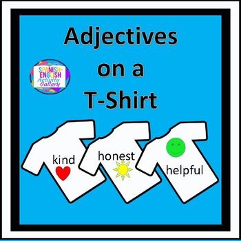 Adjectives on a T-Shirt