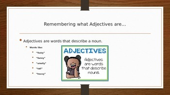 Adjectives that Compare - Comparatives and Superlatives