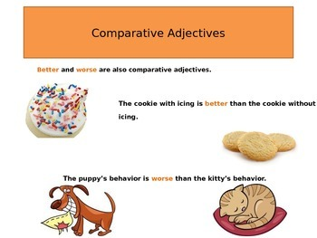 Adjectives that Compare Power Point