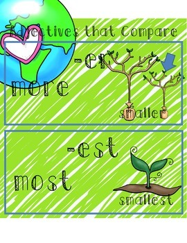 Adjectives that Compare Worksheets