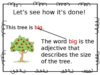 Adjectives that Compare: adding -er, -est, more and most Powerpoint