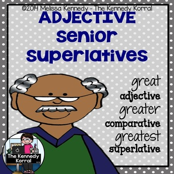 Comparative and Superlative Adjectives {Anchor Charts, Cen