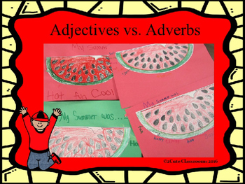 Adjectives vs. Adverbs Powerpoint Game 2