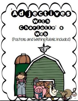 Adjectives with Charlotte's Web