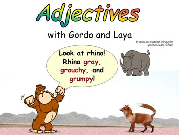 Adjectives with Gordo and Laya