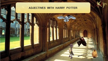 Adjectives with Harry Potter.