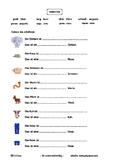 Adjectives with animals- Adjektive mit Tieren- Adjetivos c