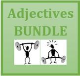 Adjetivos (Portuguese Adjectives) Bundle
