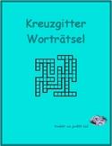 Adjektive (German Adjectives) Kriss Kross
