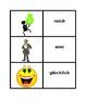 Adjektive (German Adjectives) games:  Concentration, Slap,