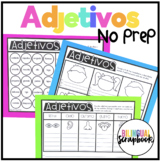 Adjetivos (Adjectives Print & Learn)