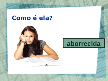 Adjectivos (Portuguese Adjectives) Opostos PowerPoint