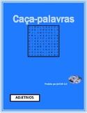 Adjetivos (Portuguese Adjectives) Wordsearch