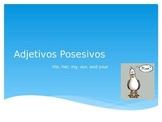 Adjetivos Posesivos (Possessive Adjectives) PowerPoint Notes