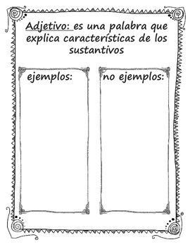 Adjetivos (Spanish)