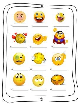 Adjetivos y Emociones