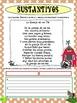 Adjetivos y Sustantivos con Poemas