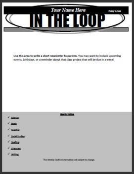 Adjustable Newsletter Template