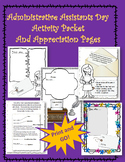 Administrative Professionals (Secretaries Day) Activity and Printables
