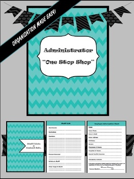 "Principal Binder:  The ""One Stop Shop"""
