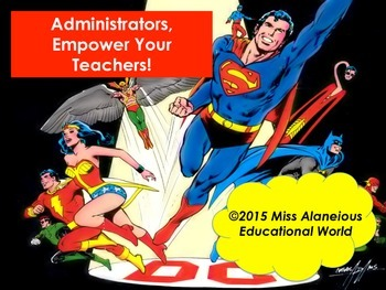 Administrators, Empower Your Teachers! Training PowerPoint