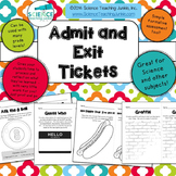 Admit and Exit Tickets (Exit Slips)