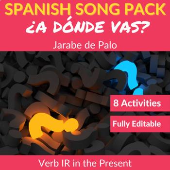 ¿Adónde vas? by Jarabe de Palo: Song to Practice the Verb IR in the Present