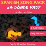 ¿Adónde vas? by Jarabe de Palo: Song to Practice the Verb