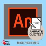 Adobe Animate CC 2019 Tools Worksheet High School