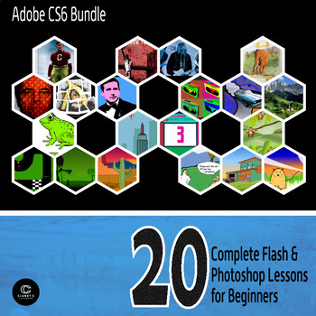 Adobe CS6 - 20 Complete Flash & Photoshop Lessons for Beginners