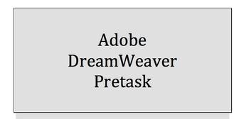 Adobe Dreamweaver (4 Assignments)