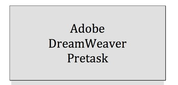 Adobe Dreamweaver (4 Assignments)