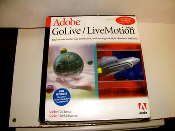 Adobe GoLive/LiveMotion Bundle - *NEW* - Macintosh