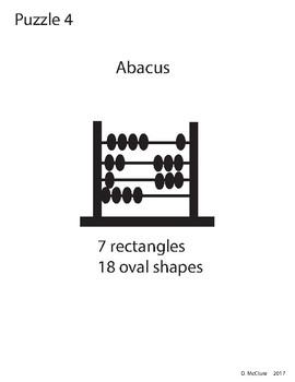 Adobe Illustrator Basic Shapes Puzzle 4 - Abacus
