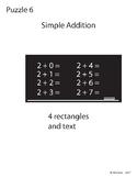 Adobe Illustrator Basic Shapes Puzzle 6 - Simple Addition