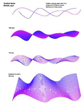 Adobe Illustrator Blend Tool 3