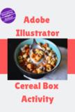 Adobe Illustrator - Cereal Box