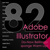 Adobe Illustrator Do-Now Bellringer Warm Ups
