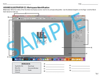 Adobe Illustrator Workspace Identification