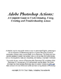 Adobe Photoshop Actions: A Complete Guide