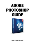 Adobe Photoshop Book with Picture Steps