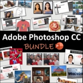 Adobe Photoshop CC 10 Lessons BUNDLE