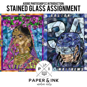Adobe Photoshop CC Assignment: Stained Glass