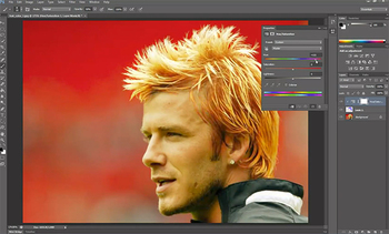 Adobe Photoshop CS6 - Change Hair Color