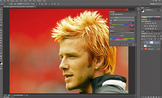 Adobe Photoshop CS6 - Change Hair Color