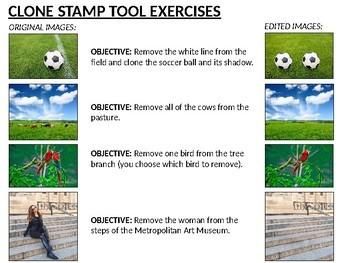 Adobe Photoshop: Clone Stamp Tool