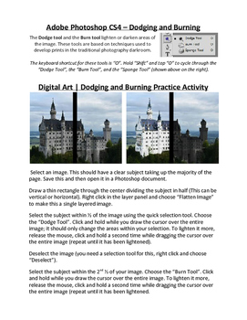 Adobe Photoshop: Introduction to Dodge & Burn Tools