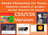 Adobe Photoshop CS5/CS6 lessons - graphic design lessons for high school