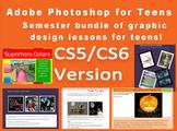 Adobe Photoshop CS5/CS6 Bundle - graphic design lessons fo